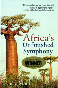 Africa's Unfinished Symphony - Indie Award Cover